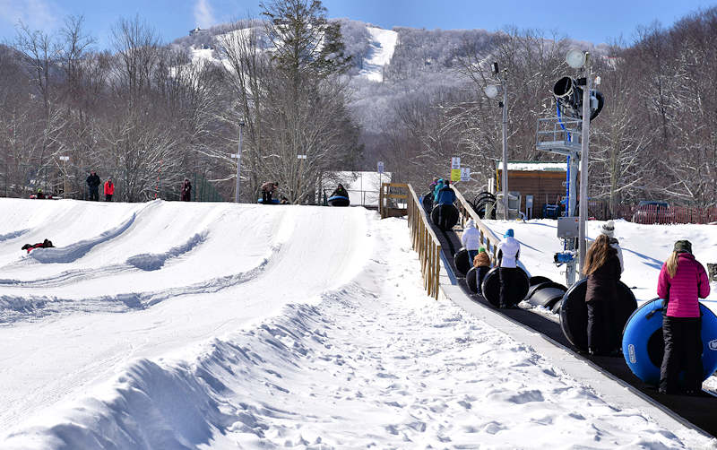 Sugar Mountain Snow Tubing