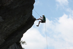 rapelling edge of the world