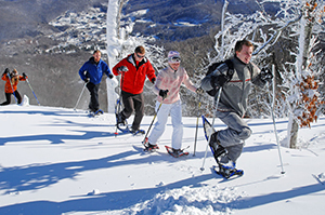 Snowshoeing at Sugar Mountain Resort