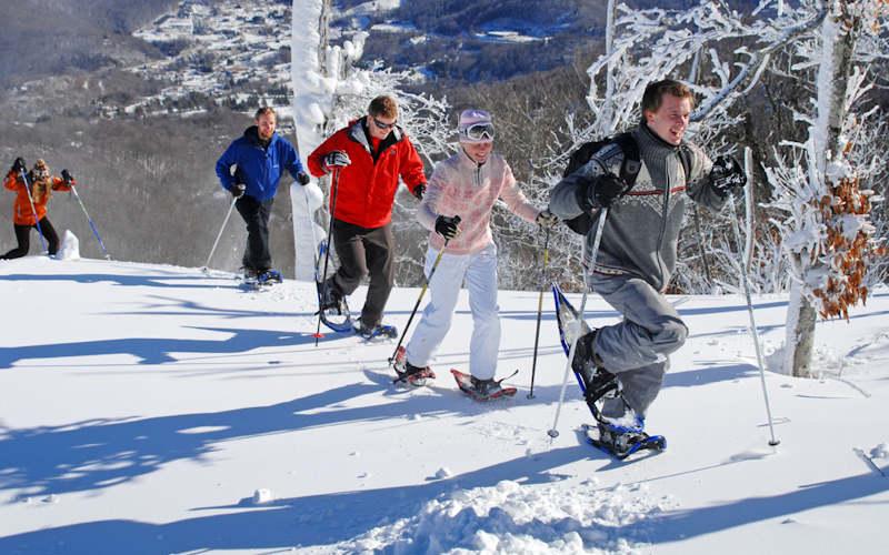 Snowshoeing Sugar Mtn