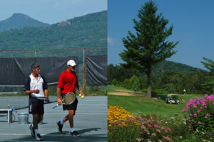 tennis golf at sugar mountain