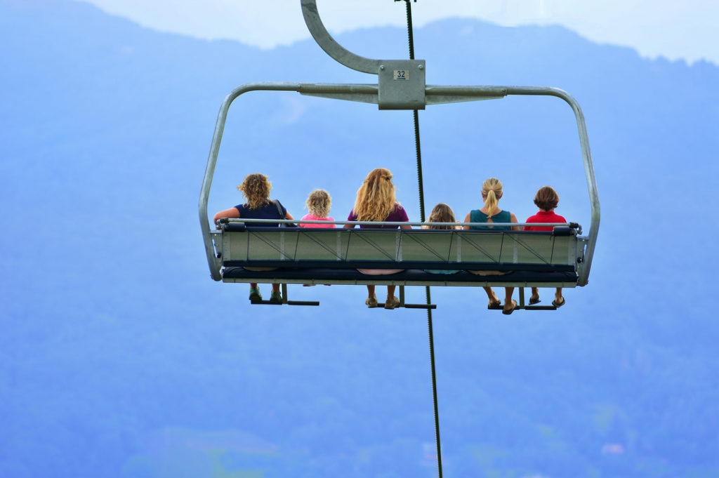 Scenic Lift Rides at Sugar Mountain Resort