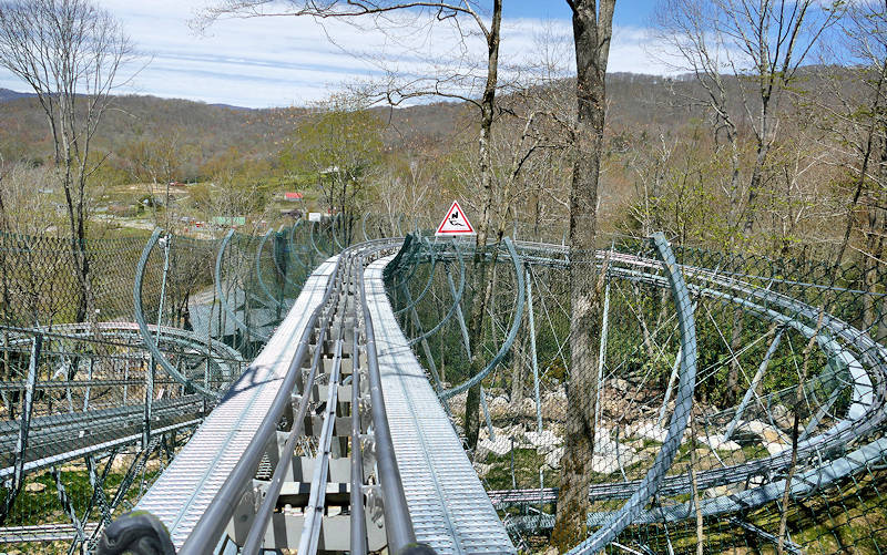 Alpine Coaster Sugar Mountain