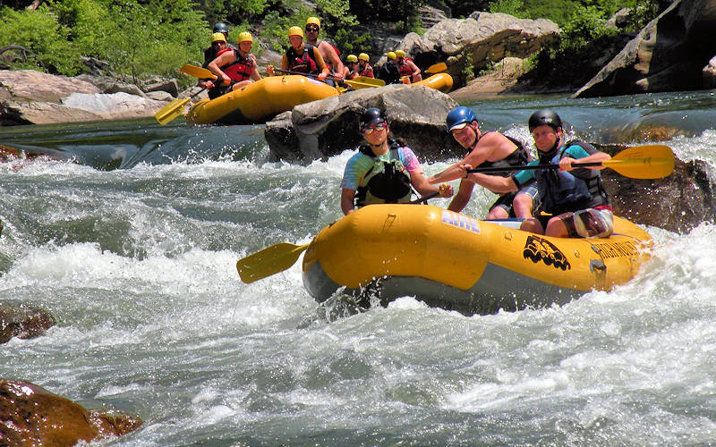 Whitewater Rafting Sugar Mountain