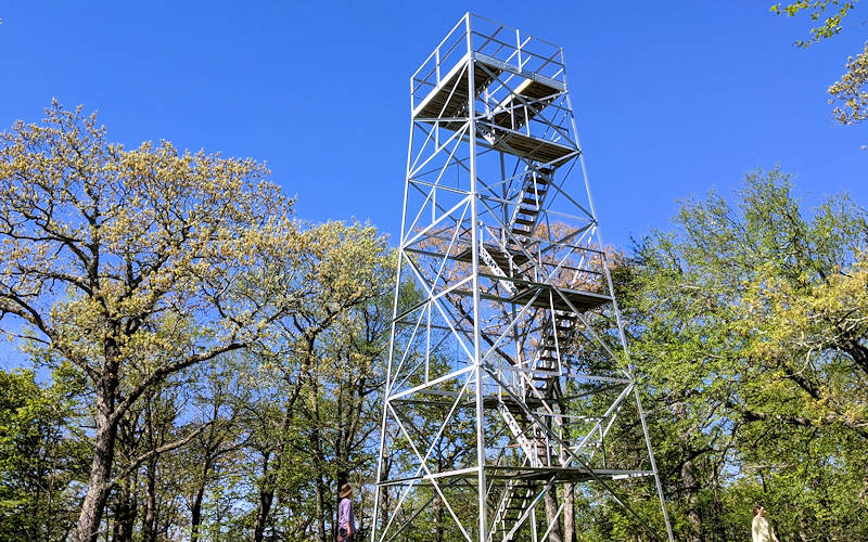 Flat Top Lookout Tower, Moses Cone Park