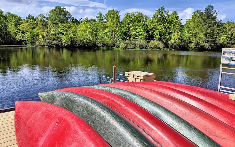 Julian Price Boat Rentals Blue Ridge Parkway