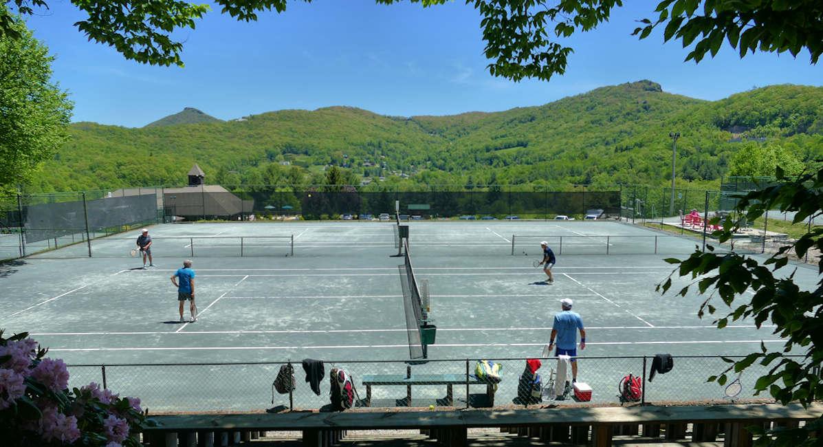 Tennis at Sugar Mountain