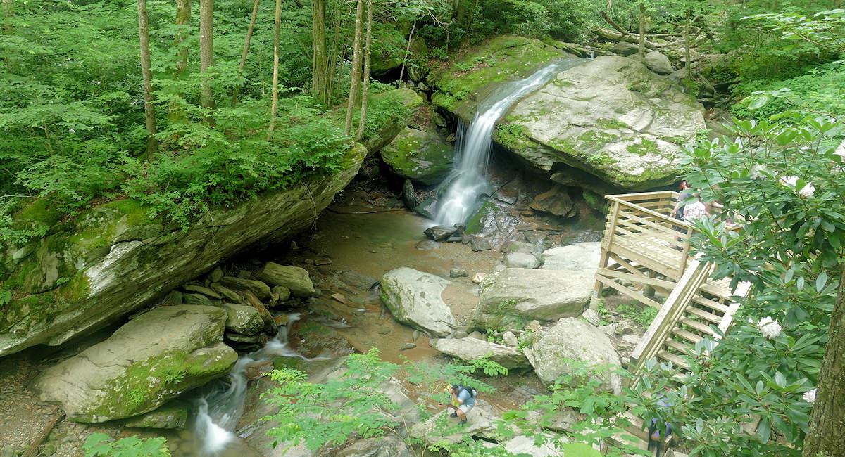 Otter Falls, NC Waterfall