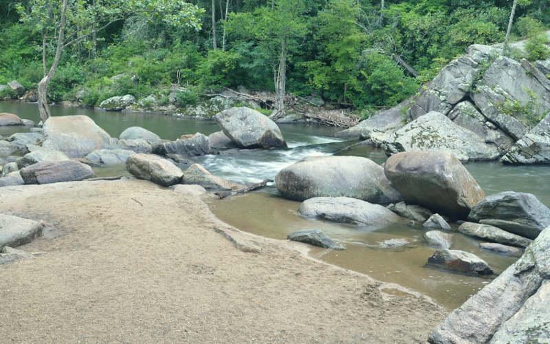 Elk River Falls Swimming