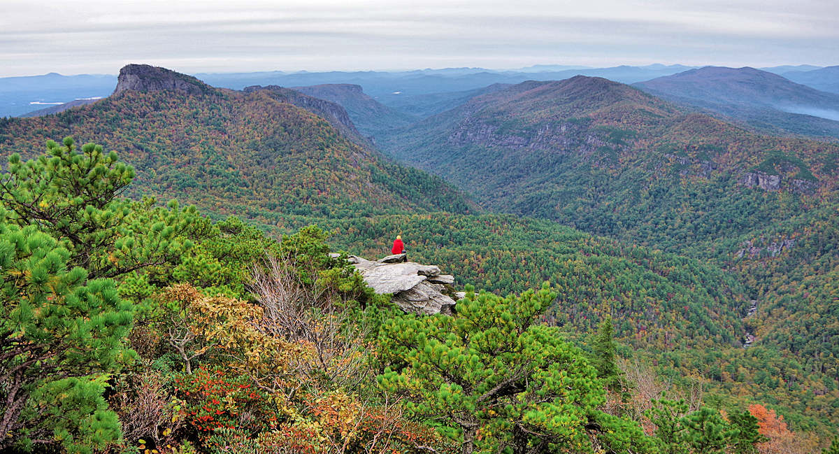 Hawksbill Mountain, NC Linville Gorge
