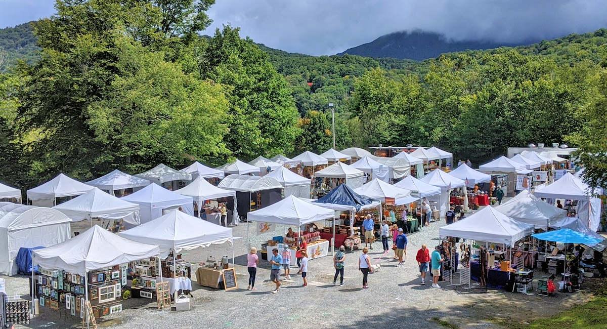 Fine Art & Master Crafts Festival, Sugar Mountain NC