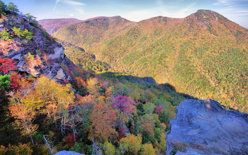 Linville Gorge Wisemans View