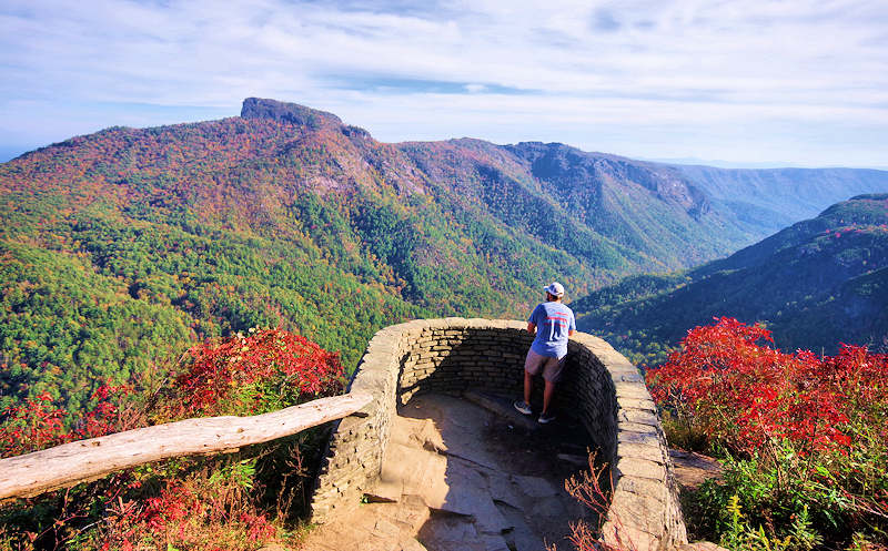 Wiseman's View, Linville Gorge NC