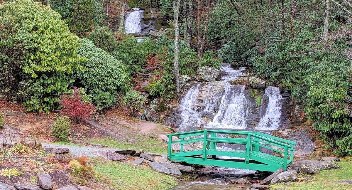 Waterfalls Park, Newland