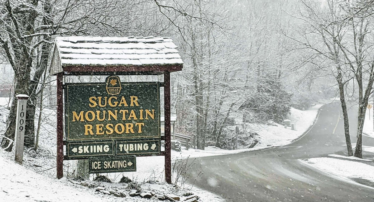 Winter Driving on Sugar Mountain