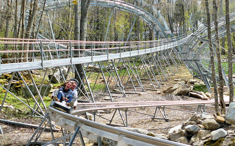 Wilderness Run Alpine Coaster, NC Mountains
