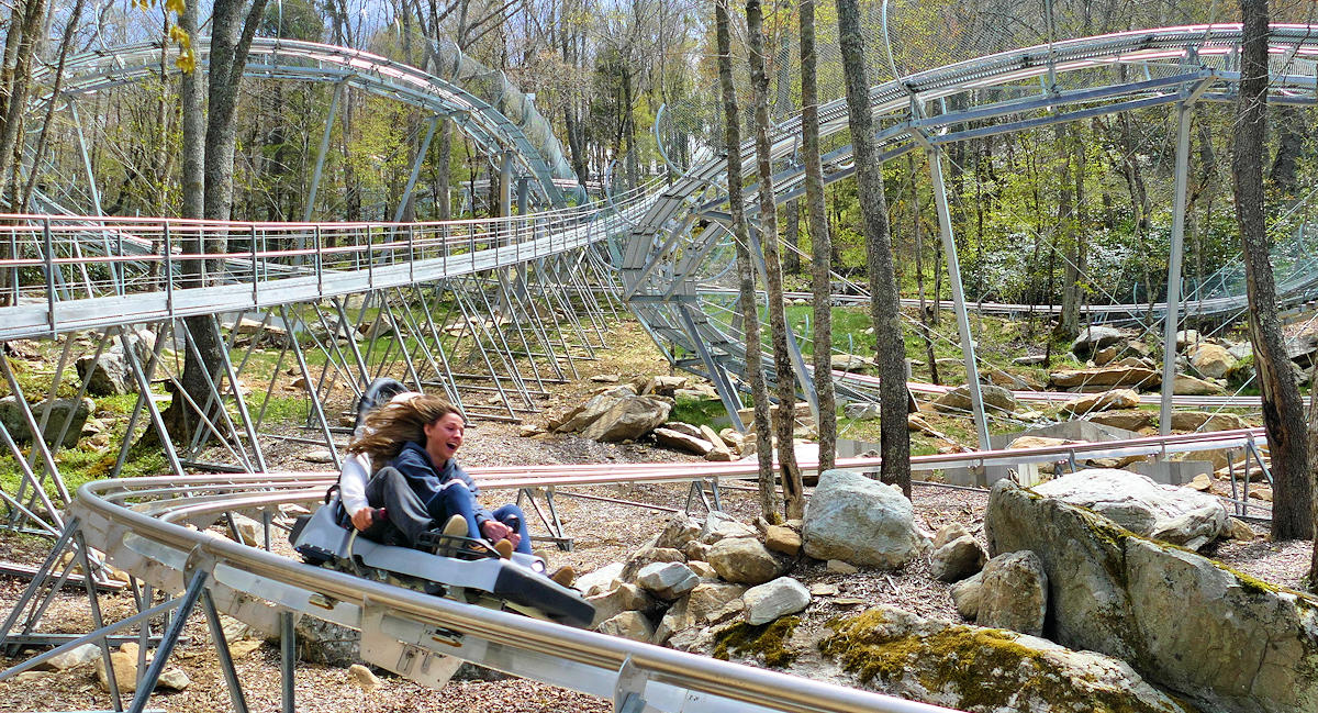 Wilderness Run Alpine Coaster, Sugar Mountain