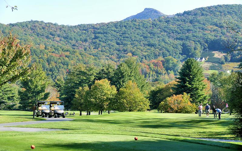 Sugar Mountain Public Golf Course NC Blue RIdge