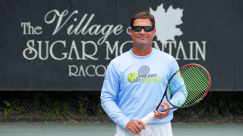 Gene Highfield, Tennis Pro at Sugar Mountain NC