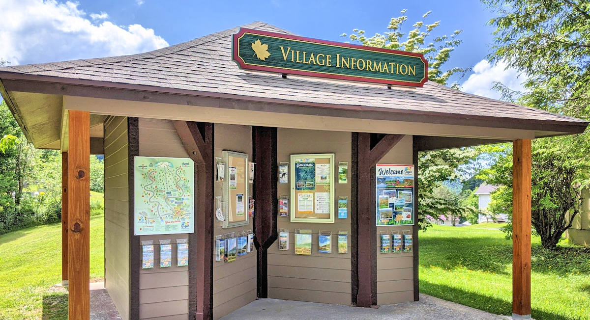 Village of Sugar Mountain Visitor Kiosk