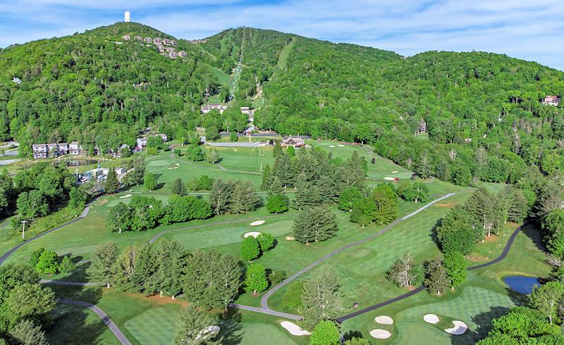 Sugar Mountain Public Golf Course in Blue Ridge