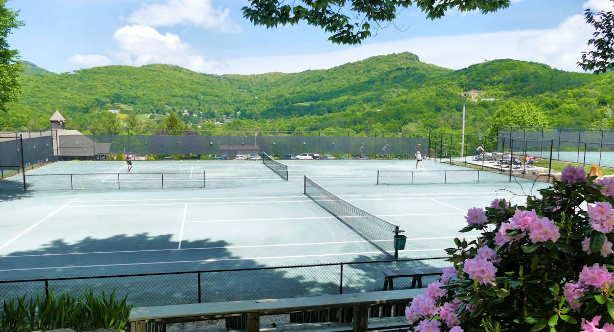 Sugar Mountain Public Tennis Courts NC