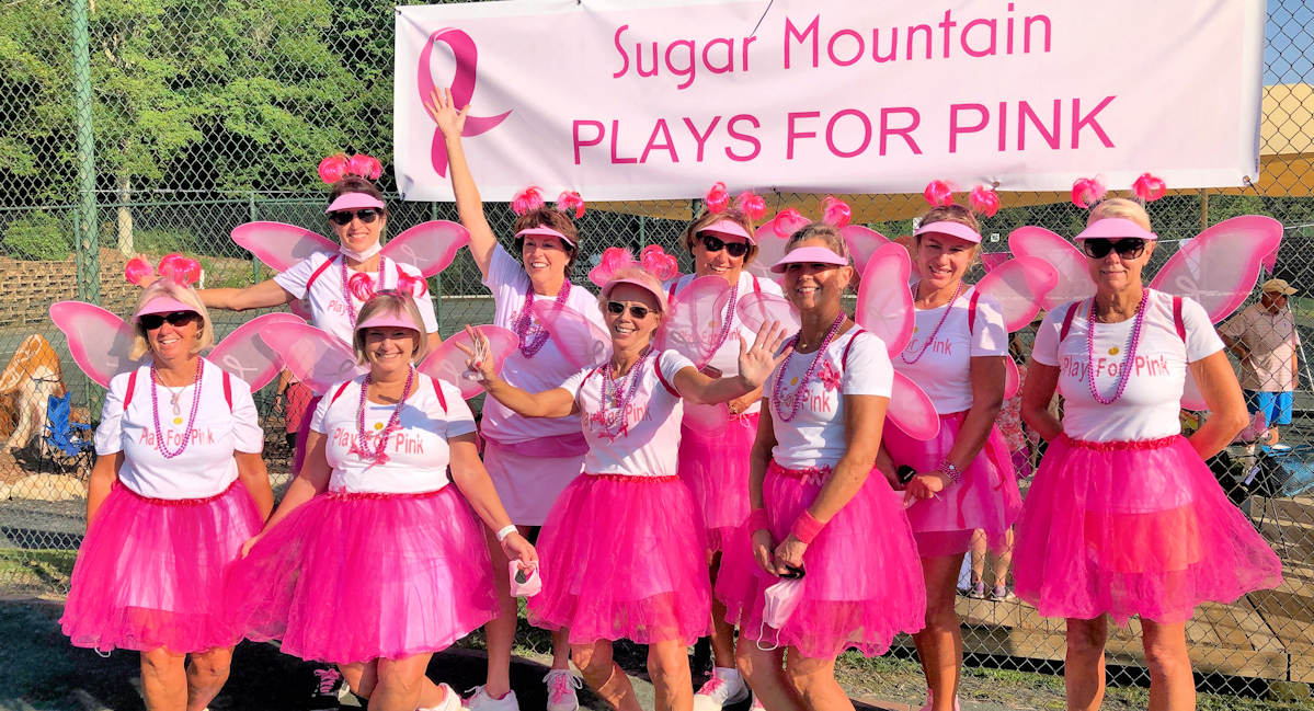 Play for Pink Breast Cancer Fundraiser Sugar Mtn