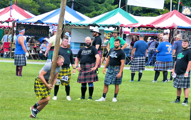Grandfather Highland Games Competition