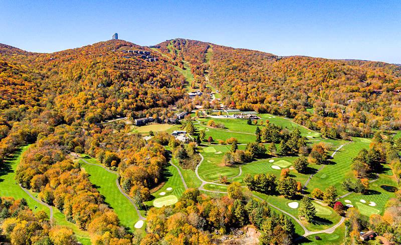 Fall Color Sugar Mountain NC