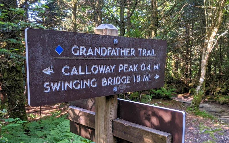 Calloway Gap, Grandfather Mountain