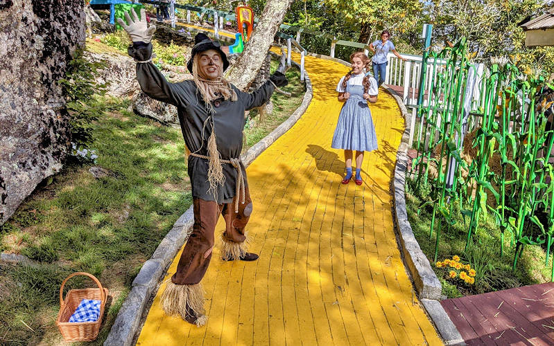 Land of Oz Park Yellow Brick Road