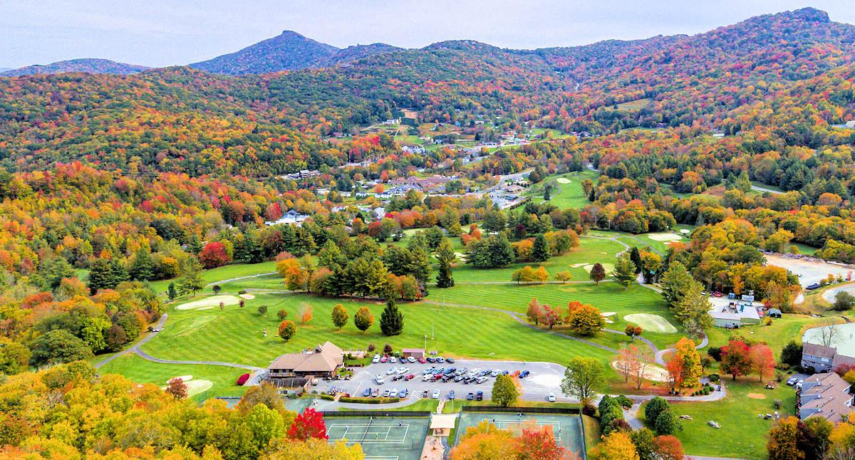 Sugar Mountain Golf Course Fall Color